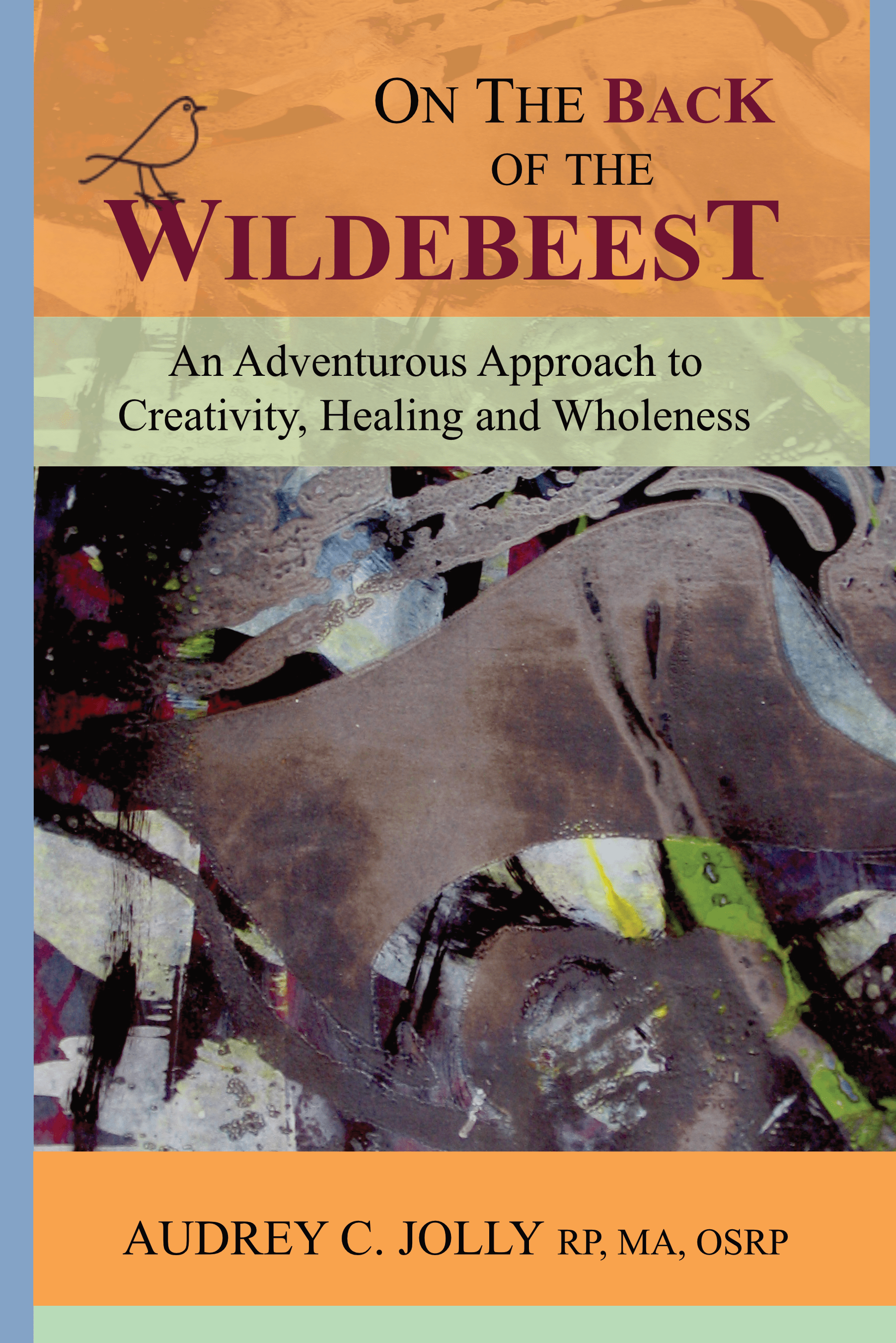 Book Cover On the Back of the Wildebeest